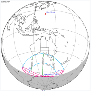 Jul 12 eclipse path